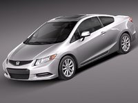 Honda Civic Coupe USA 2012